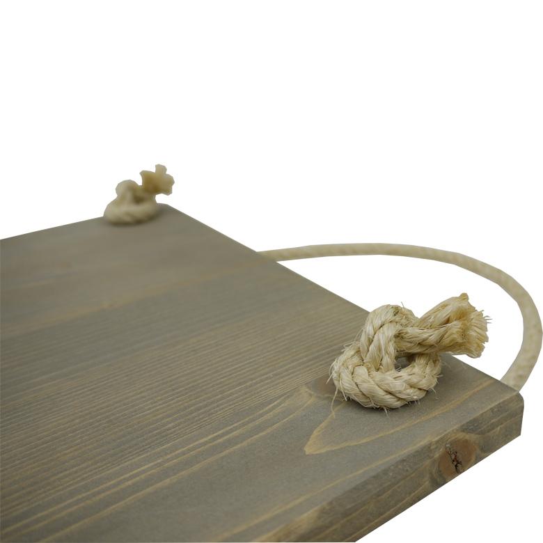 Ophangsysteem tekstbord touw