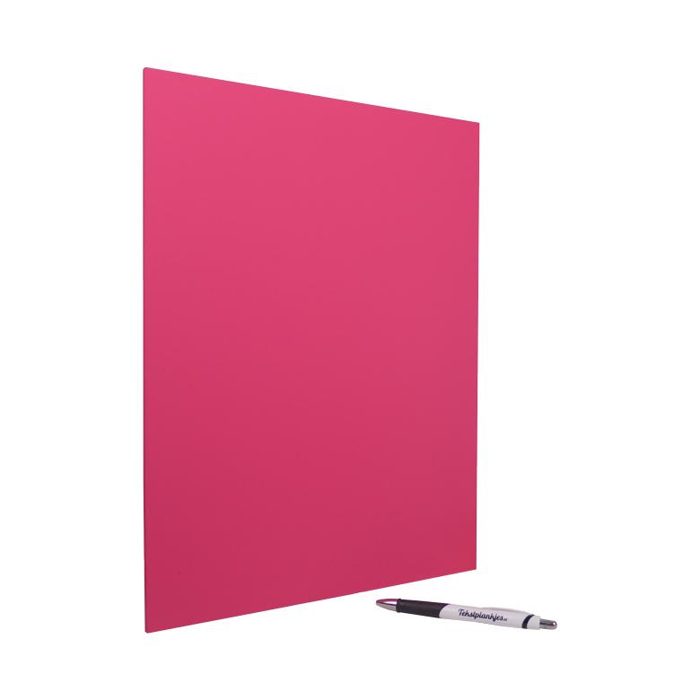 Tekstbord tekst op hout 40x30 roze