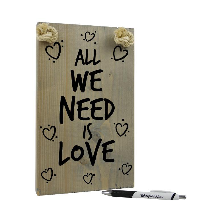 Uniek persoonlijk cadeau je eigen tekst op hout goedkoop for Cadeau eigen huis