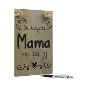 De liefste mama dat ben jij