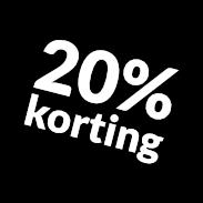 Tekst op hout nazomer korting 2018 - 20%